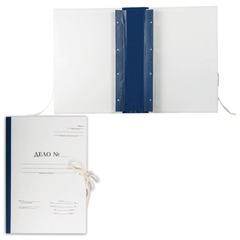 Папка архивная для переплета «Форма 21», 70 мм, с гребешками, 4 отверстия, 2 х/<wbr/>б завязки