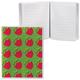 Блокнот А7, 50 л., линия, обложка ПВХ 180 мкм, 2 внешних кармана, ДПС, «Фрукты», 80×100 мм