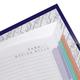 Блокнот 7БЦ, А4, 160 л., обложка ламинированная, 5-цветный блок, HATBER, «Город», 205×290 мм