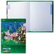 Блокнот 7БЦ, А4, 120 л., обложка ламинированная, 5-цветный блок, HATBER, «Яркие краски Европы»