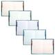 Блокнот 7БЦ, А4, 80 л., выборочный лак, 5-цветный блок, HATBER, «Красота тишины»