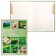 Блокнот 7БЦ, А4, 80 л., выборочный лак, 5-цветный блок, HATBER, «Ромашковое настроение»