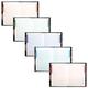 Блокнот 7БЦ, А4, 80 л., обложка ламинированная, 5-цветный блок, HATBER, «Изящные узоры»