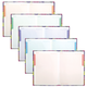 Блокнот 7БЦ, А5, 80 л., металлик, 5-цветный блок, HATBER, «Калейдоскоп»