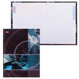 Блокнот 7БЦ, А5, 80 л., обложка ламинированная, 5-цветный блок, HATBER, «Современный офис»