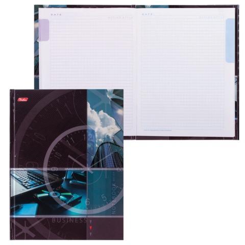 """Блокнот 7БЦ, А5, 80 л., обложка ламинированная, 5-цветный блок, HATBER, """"Современный офис"""", 80ББ5В1 14362"""