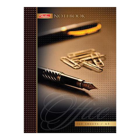 Блокнот 7БЦ, А6, 160 л., обложка ламинированная, HATBER, «Office Style»
