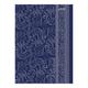 Блокнот 7БЦ-лайт, А6, 80 л., металлик, HATBER, «Романтичный узор»