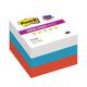 Блоки самоклеящиеся (стикеры) POST-IT Super Sticky, комплект 6 шт., «Триколор», 76×76 мм, 90 л., ассорти