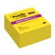 Блок самоклеящийся (стикер) POST-IT Super Sticky, 76×76 мм, 350 л., неоновый желтый