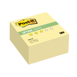 Блок самоклеящиеся (стикер) POST-IT Optima «Осень», 76×76 мм, 400 л., желтый