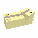 ����� ������������� (�������) POST-IT Basic, �������� 12 ��., 38×51 ��, 100 �., ������