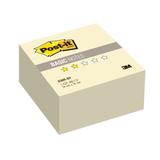 Блок самоклеящийся (стикер) POST-IT Basic, 76×76 мм, 400 л., желтый