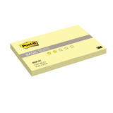Блок самоклеящийся (стикер) POST-IT Basic, 76×127 мм, 100 л., желтый