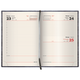 Ежедневник BRAUBERG (БРАУБЕРГ) датированный 2017, А4, 175×248 мм, «Comodo» («Комодо»), «крокодиловая кожа»,168 л., крем. блок,черн