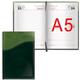 """Ежедневник BRAUBERG (БРАУБЕРГ) 2017, А5, 138×213 мм, «Bond» («Бонд»)«, »комбинированная кожа"""", 168 л., зеленый/<wbr/>салатовый"""