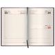 Ежедневник BRAUBERG (БРАУБЕРГ) 2017, А5, 138×213 мм, «Comodo» («Комодо»), «крокодиловая кожа», 168 л., темно-коричневый, крем.блок