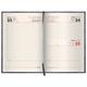 Ежедневник BRAUBERG (БРАУБЕРГ) датированный 2017, А5, 138×213 мм, «Comodo» («Комодо»), «крокодиловая кожа», 168 л.,черн., крем.бл.