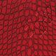 Ежедневник BRAUBERG (БРАУБЕРГ) 2017, А5, 138×213 мм, «Comodo» («Комодо»), «крокодиловая кожа», 168 л., красный, крем.бл.,зол. срез