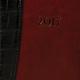 Ежедневник BRAUBERG (БРАУБЕРГ) 2017, А6, 100×150 мм, «Cayman» («Кайман»), «крокодиловая кожа», 168 л., черн/<wbr/>т-кор, крем. бл.