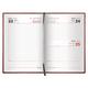 Ежедневник BRAUBERG (БРАУБЕРГ) 2017, А6, 100×150 мм, «London» («Лондон»), «матовая кожа», 168 л., коричневый