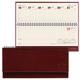 Планинг настольный BRAUBERG (БРАУБЕРГ) датированный 2017, 305×140 мм, «Imperial» («Империал»), «гладкая кожа», 60 л., коричневый