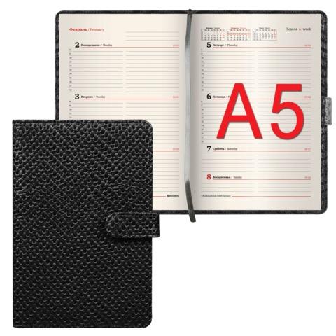 Еженедельник BRAUBERG (БРАУБЕРГ) датированный 2017, А5, 148×218 мм, «Instinct» («Инстинкт»), «глянцевый винил», 64 л,магнит.застеж