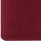 Еженедельник BRAUBERG (БРАУБЕРГ) 2017, А6, 95×155 мм, «London» («Лондон»), «матовая кожа», 64 л., бордовый