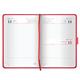 Ежедневник GALANT датированный 2017, А5, 148×218 мм, «Ritter», 168 л., «гладкая кожа», магнитная застежка, красный