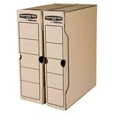 Накопитель документов, лоток-коробка FELLOWES Bankers Box «Basic», 80 мм, бурый, до 650 л.