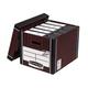 ����� �������� FELLOWES Bankers Box «Woodgrain», 32,5×28,5×38,5 ��, � �������, �����������