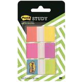 Закладки самоклеящиеся POST-IT Study, пластиковые, 25 мм, 6 цветов х 10 л.