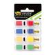 Закладки самоклеящиеся POST-IT Study, пластиковые, 12 мм, 4 цвета х 24 шт.