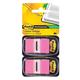 Закладки самоклеящиеся POST-IT Professional, пластиковые, 25 мм, 100 шт., розовые