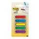 Закладки самоклеящиеся POST-IT Professional, пластиковые, 12 мм, 5 цветов х 20 шт., стрелки