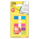 Закладки самоклеящиеся POST-IT Professional, пластиковые, 12 мм, 3+2 цвета х 20 шт.