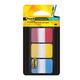 Закладки самоклеящиеся POST-IT Professional, пластик, 25 мм, 3 цвета х 22 шт., суперклейкие