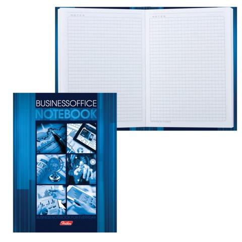 Блокнот 7БЦ, А6, 80 л., обложка ламинированная, HATBER, «Business», 80ББ6В1 14390