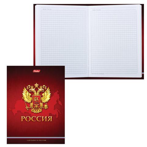 Блокнот 7БЦ, А6, 80 л., с поролоном, HATBER, «Россия», 80ББп6В1 14009