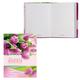 Записная книжка женщины, 7БЦ, А6, 160 л., обложка ламинированная, HATBER, «Flowers» («Цветы»)