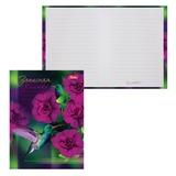 Записная книжка женщины, 7БЦ, А6, 160 л., обложка ламинированная, HATBER, «Удивительный мир»