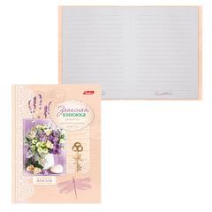 Записная книжка женщины, 7БЦ, А6, 160 л., обложка ламинированная, HATBER, «Цветы», 160ЗКс6 12953