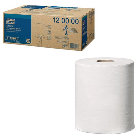 Бумага протирочная/<wbr/>полотенца TORK (M4) Reflex, комплект 6 шт., 270 м, центральная вытяжка, диспенсер 601827, 602995 — 997