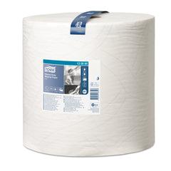 Бумага протирочная TORK (Система W1), 1000 листов в рулоне, 34×36,9 см, 2-слойная, высокой прочности, 130060