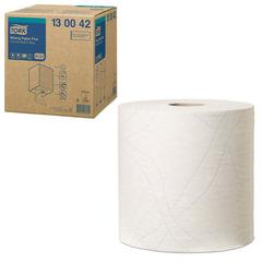 Бумага протирочная TORK (Система W1, W2, W3), 750 листов в рулоне, Plus, 25,8×34 см, 2-слойная, 130042