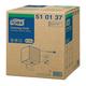 Нетканый протирочный материал TORK (W3), Premium, 400 листов в рулоне, 32×38 см, диспенсер 603002