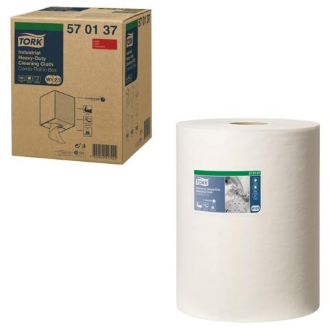 Протирочный нетканый материал TORK (Система W1, W2, W3) Premium, 160 листов в рулоне, 32х38 см, 570137