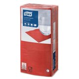 Салфетки TORK Big Pack, 24×23,8, 200 шт., 2-х слойные, красные, 477826