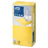Салфетки TORK Big Pack, 24×23,8, 200 шт., 2-х слойные, желтые, 477823
