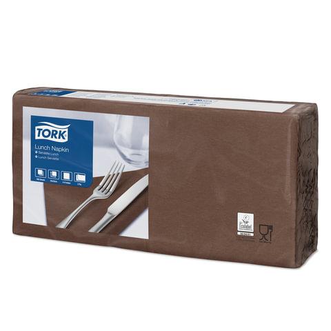 Салфетки TORK Big Pack, 33×32,6, 200 шт., 2-х слойные, «шоколад», 477208